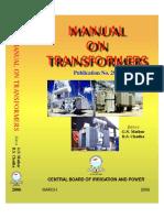 CBIP Manual on Transformer (Publication No 295)