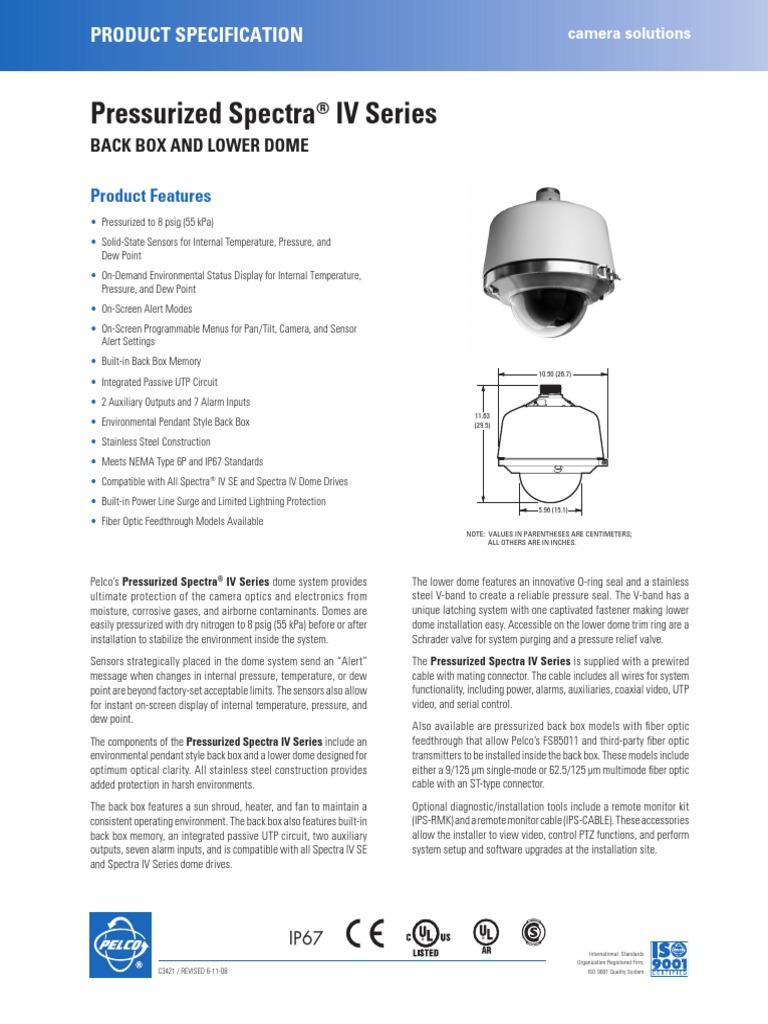 Pelco Spectra Wiring Diagram Trusted Diagrams Foscam 22 Iv Pressurized Pdf Optical Fiber Camera