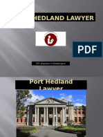 Port Hedland Lawyer