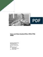 Voice and Video Enabled IPSec VPN (V3PN) Solution Reference Network Design V3PN