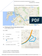 Chhatrapati Shivaji International Airport to Jeevanvidya Mission Dnyanpeeth