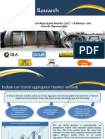 Indian Car Rental Aggregator Market 2012 Sample Presentation
