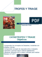 Catastrofes y Triage