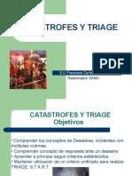 Catastrofes y Triage