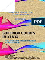 Superior Courts in Kenya