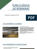Villas Romanas en Hispania
