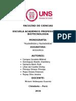 Monografia de Nucleotidos y Nucleósidos