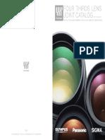 4 Thirds - Lens Catalogue