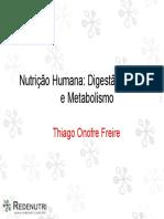 Nutrição Humana Digestão Absorcao e Metabolismo (1)
