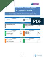 Dp May 2017 Examination Schedule