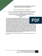 Faktor Personil Dalam Pelaksanaan Discharge Planning