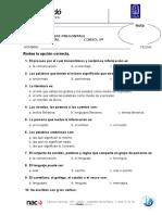 Examen Final Test Lengua 5º (100)