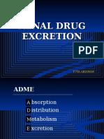 [9]Renal Drug Excretion
