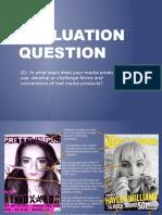 Evaluation q2,q3,q4,q5