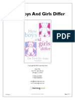 1263 How Boys and Girls Differ Guide