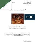 Amour Courtois - Le Chevalier a La Charette
