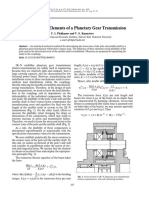 Russian Engineering Research Volume 30 Issue 6 2010 [Doi 10.3103_s1068798x10060055] F. I. Plekhanov; V. S. Kuznetsov -- Deformability of Elements of a Planetary Gear Transmission