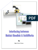 Interfacing Btwn Matlab&SolidWorks