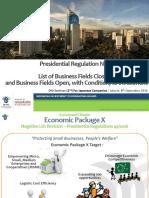 Perpres 44 - 2016 - Daftar Investasi Yang Dperbolehkan Di Indonesia