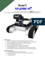Explorer Kit Instruction Manual
