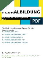 Pluralbildung