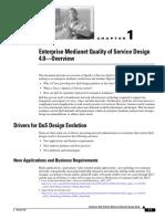 Enterprise Medianet Quality of Service Design 4.0—Overview QoSIntro_40