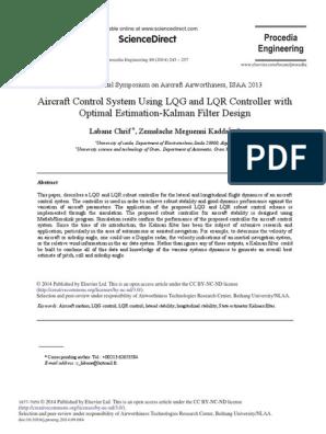 Aircraft Control System Using LQG and LQR Controller pdf