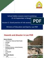 Day 1 Session 5 CSS Assessment Presentation Bangkok 15 16 Sep.2016