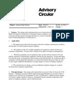 FAA Advisory Circular 25.1581-1