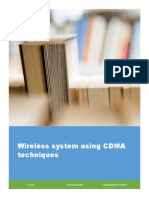 Wireless system using CDMA techniques .pdf