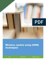 Wireless system using CDMA techniques .pdf