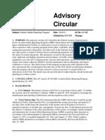 FAA Advisory Circular 00-46E
