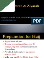 Hajj Umrah Ziyarah Guide - Mufti Faraz Al Mahmudi