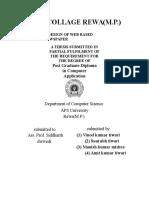 Design of Web Based Newspaper