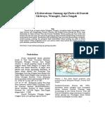 Identifikasi Awal Keberadaan Gunung API Purba Di Daerah Sejati, Giriwoyo, Wonogiri, Jawa Tengah