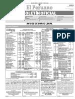 Diario Oficial El Peruano, Edición 9657. 06 de abril de 2017