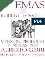 Robert Lowell traducido por  Alberto Girri.pdf