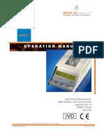 Mc 1 Operation Manual English