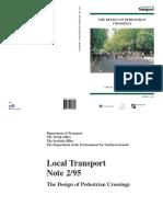 pedestrian crossing from .pdf