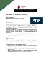 Evaluacion de Impacto Ambiental II.programa. 2017