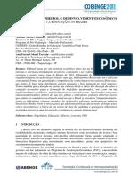 A FALTA DE ENGENHEIROS, O DESENVOLVIMENTO ECONÔMICO E A EDUCAÇÃO NO BRASIL