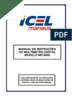 Manual Multimetro - MD-9000