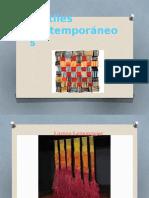 Textiles Contemporáneos