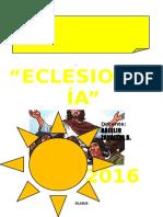 La Iglesia - Trabajo 2016