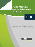 01 Manual de Organizacion Clinica de Atencion Residencial en Adicciones