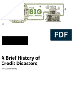 2009-06-09 a Brief History of Credit Disasters - The Big Picture