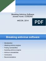 Breaking Av Software 44con