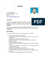 Adnan Sharif Resume