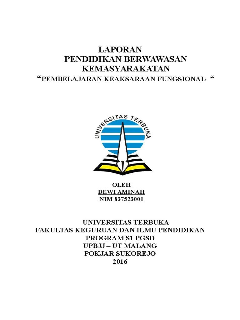 1 Cover Makalah
