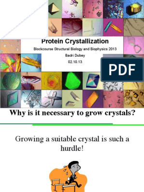 Crystallization Lecture 2013 | Crystallization | Solubility